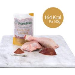 PF Chicken & Ground Bone with Liver (Adult Cat) 6 x 70g
