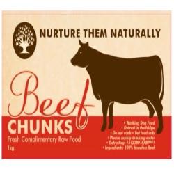 NTN Beef Chunks (Boneless) WD 1kg