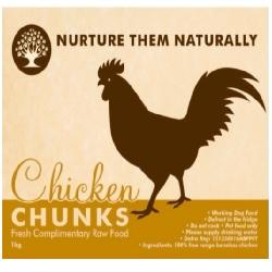 NTN Chicken Chunks Boneless WD 1kg