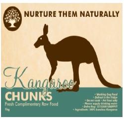 NTN Kangaroo Chunks WD 1kg