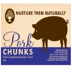 NTN Pork Chunks Boneless WD 1kg